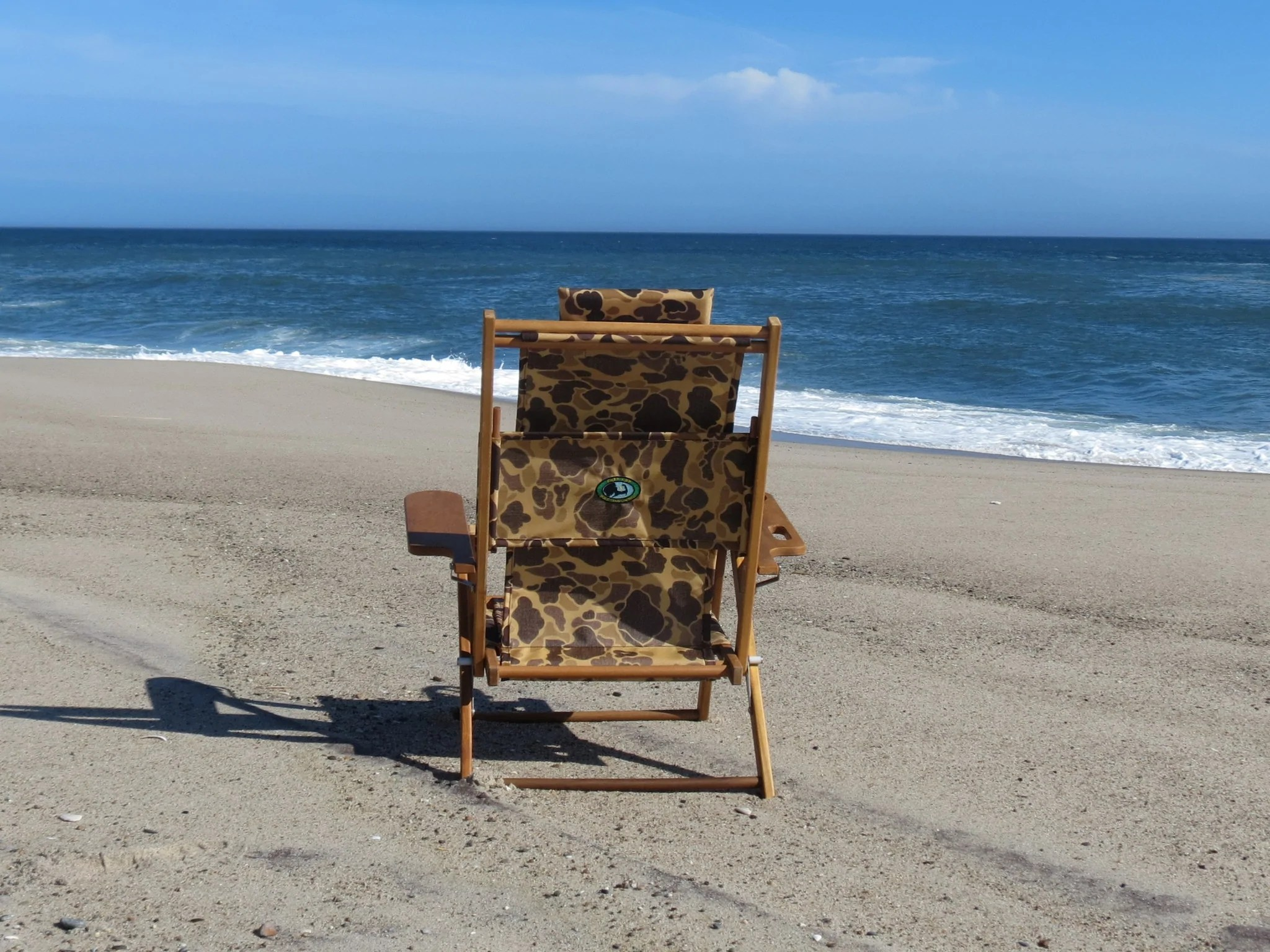 Cape Cod Beach Chair Nauset Recliner Camo Cape Cod Beach Chair Company