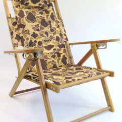Cape Cod Beach Chair French Wingback Nauset Recliner Camo Company