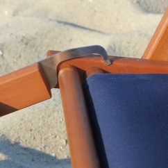 Reclining Beach Chair With Footrest Amish Glider Rocking Nauset Recliner Cape Cod Company