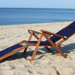 Reclining Beach Chair With Footrest Wheelchair Services Nauset Recliner Cape Cod Company