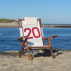 Sailcloth Beach Chairs Bean Bag Chair Kids Nautical Line Nauset Recliner Cape Cod Company