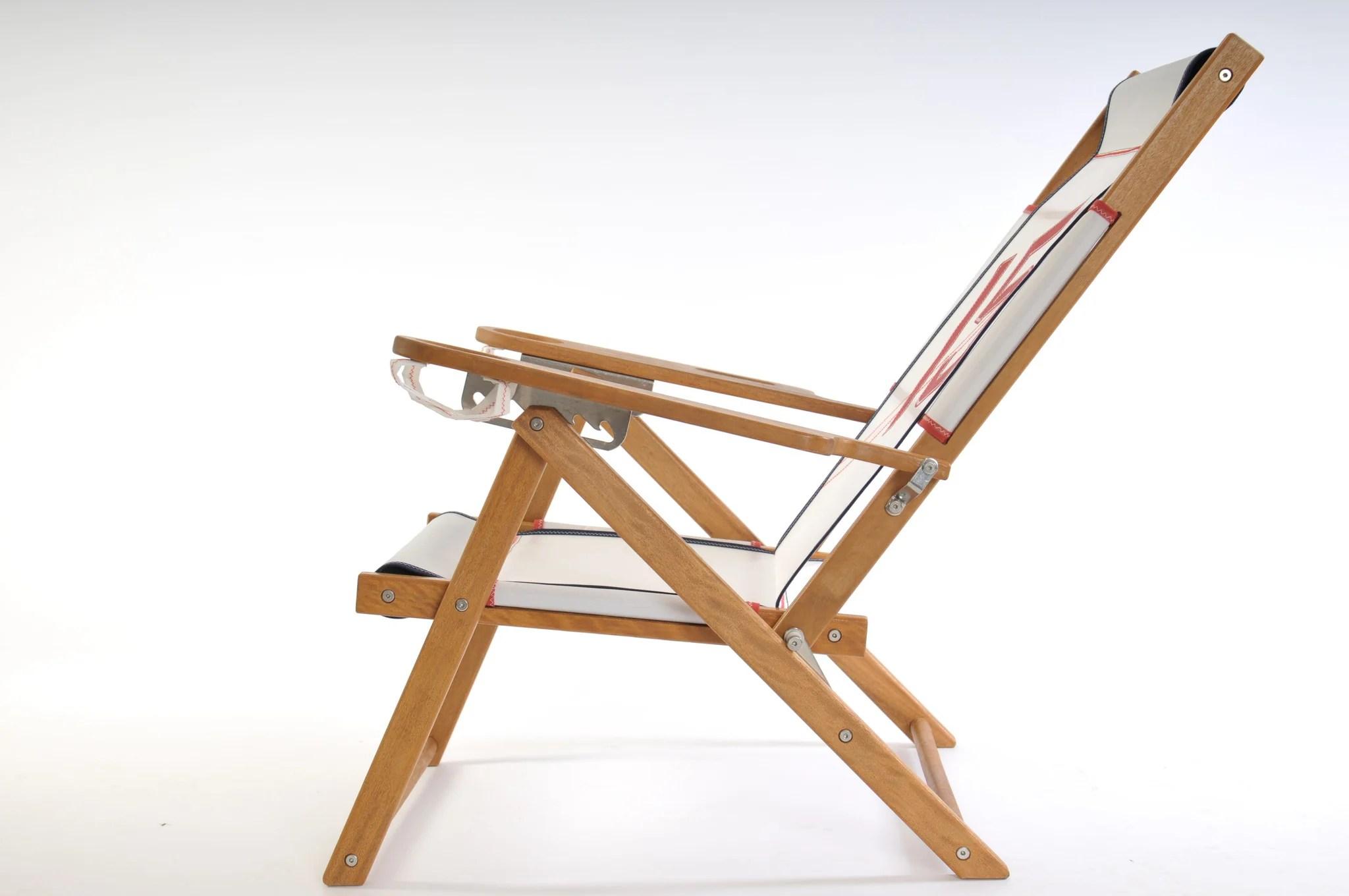 cape cod beach chair camo camp nautical line surfside recliner company