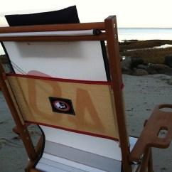 Sailcloth Beach Chairs Al Fresco Table And Nautical Line Nauset Heights Cape Cod Chair Company