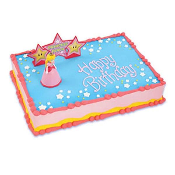 Princess Peach Cake Topper Bling Your Cake
