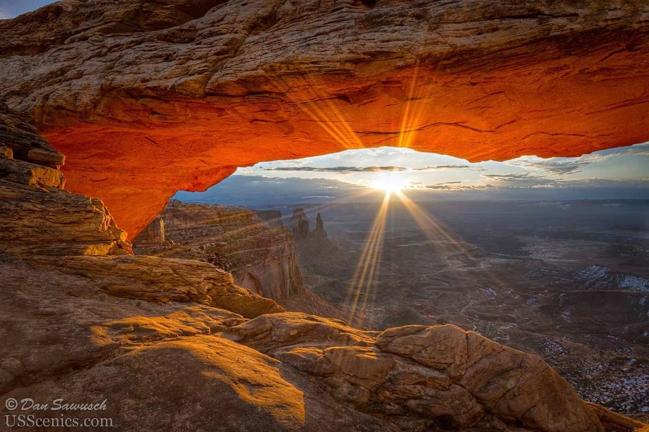 Morning Glory at Mesa Arch  Canyonlands National Park