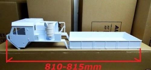 OshKosh M977 8X8 Body Set 110 Scale  Greens Models