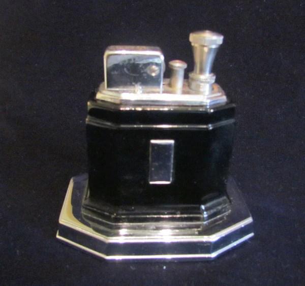 Ronson Touch Tip Lighter 1930s Octette Table Lighter Art Deco Black En  Power Of One Designs