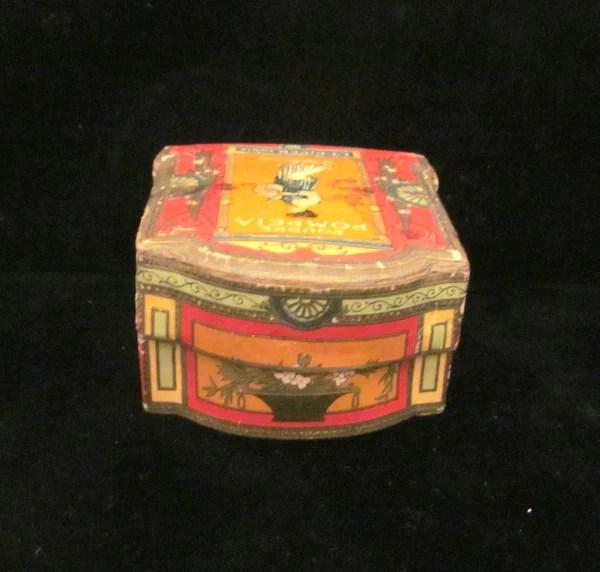 Antique French Powder Box Poudre Lt Piver Pompeia Face