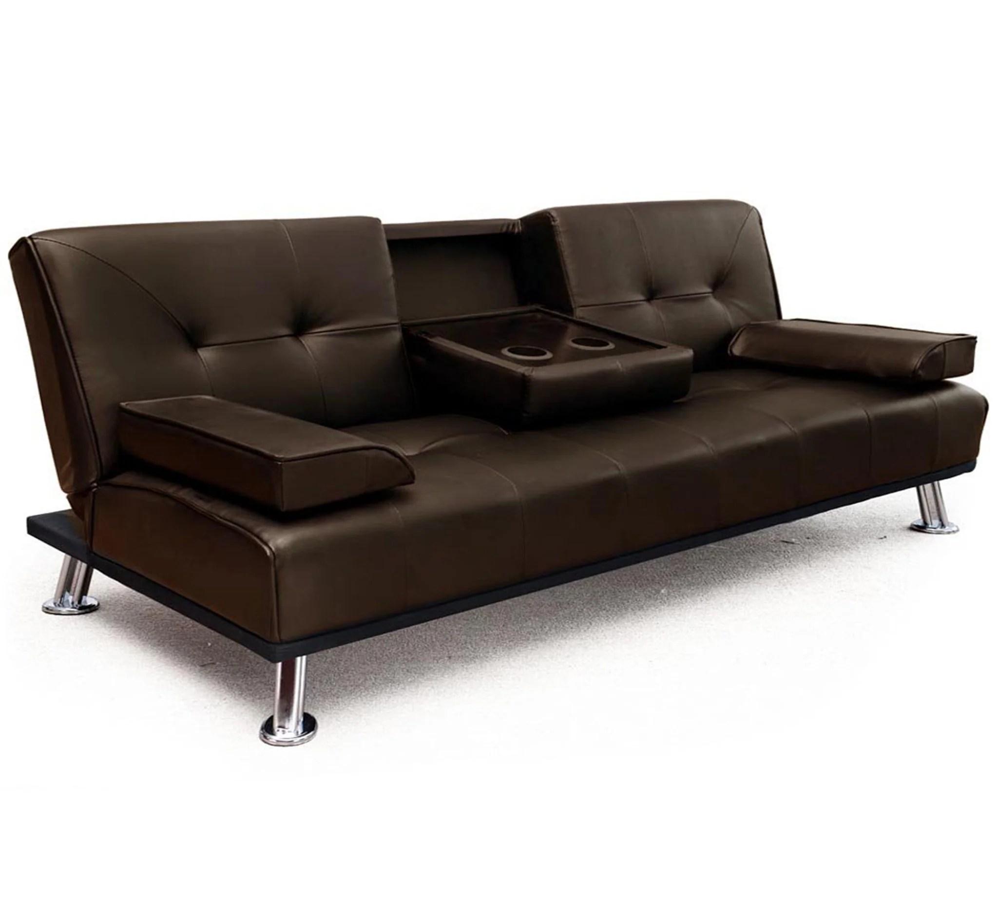 dhp allegra pillow top futon sofa bed como short roselawnlutheran