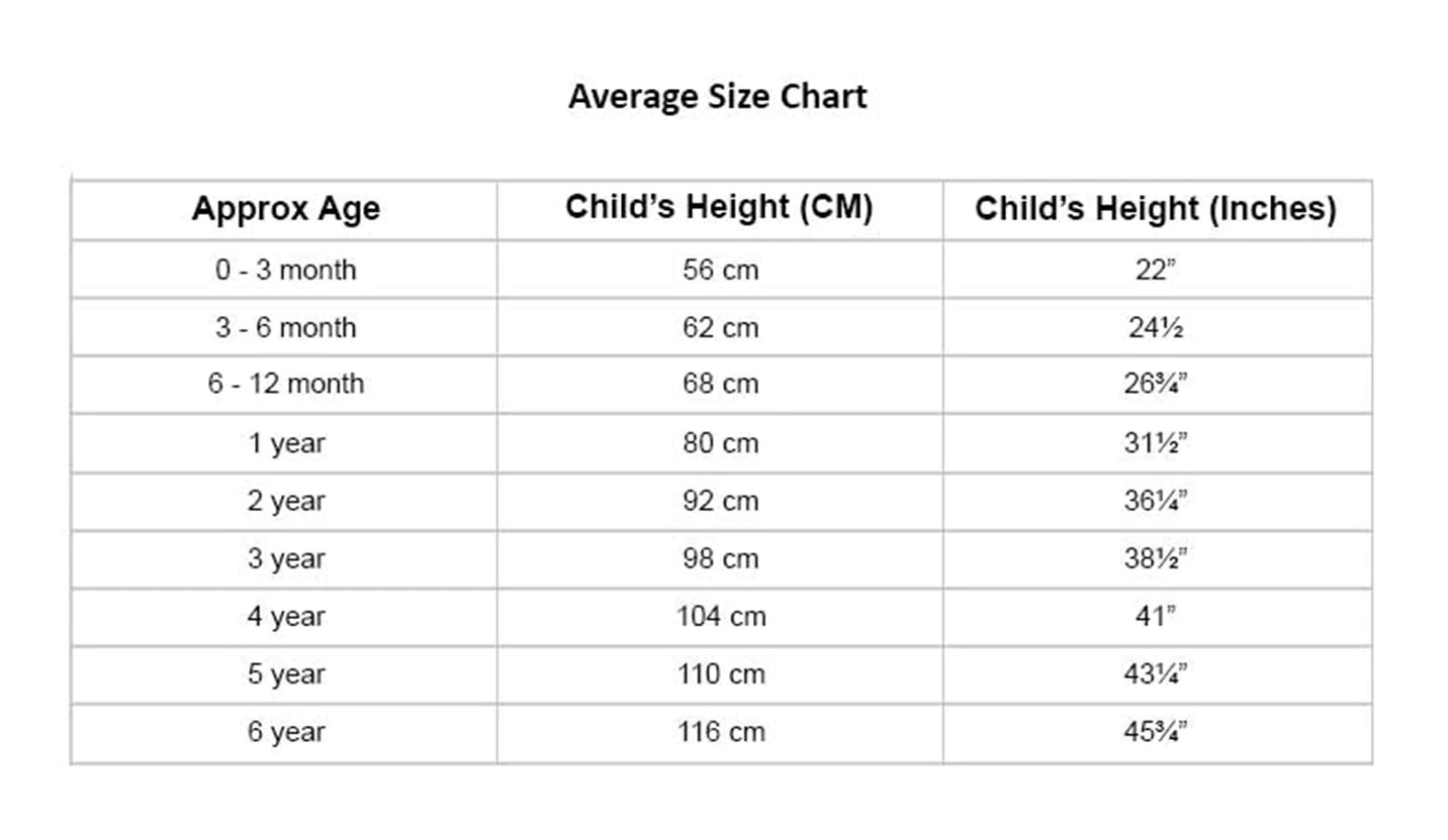 Size chart also first crown design white hat bababoom baby boutique rh