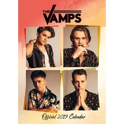 Official The Vamps 2019 Calendar Accessories The Vamps