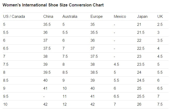 Shipping free worldwide for order over days delivery to us uk ca au fr de it and most asia countries woman shoes size chart also pink blue white lolita pearl high platform sp rh spreepickyeushopify