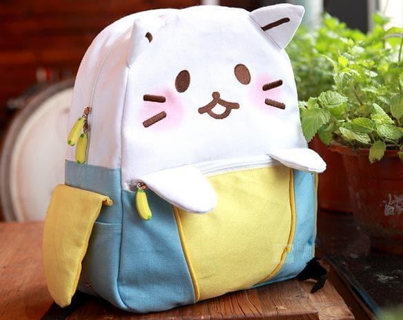 Kawaii Cat Leisure Backpack SP168541 SpreePicky