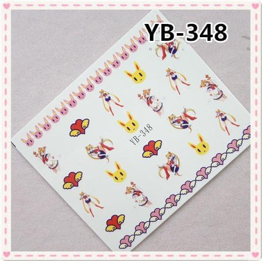 kawaii sailor moon nail sticker