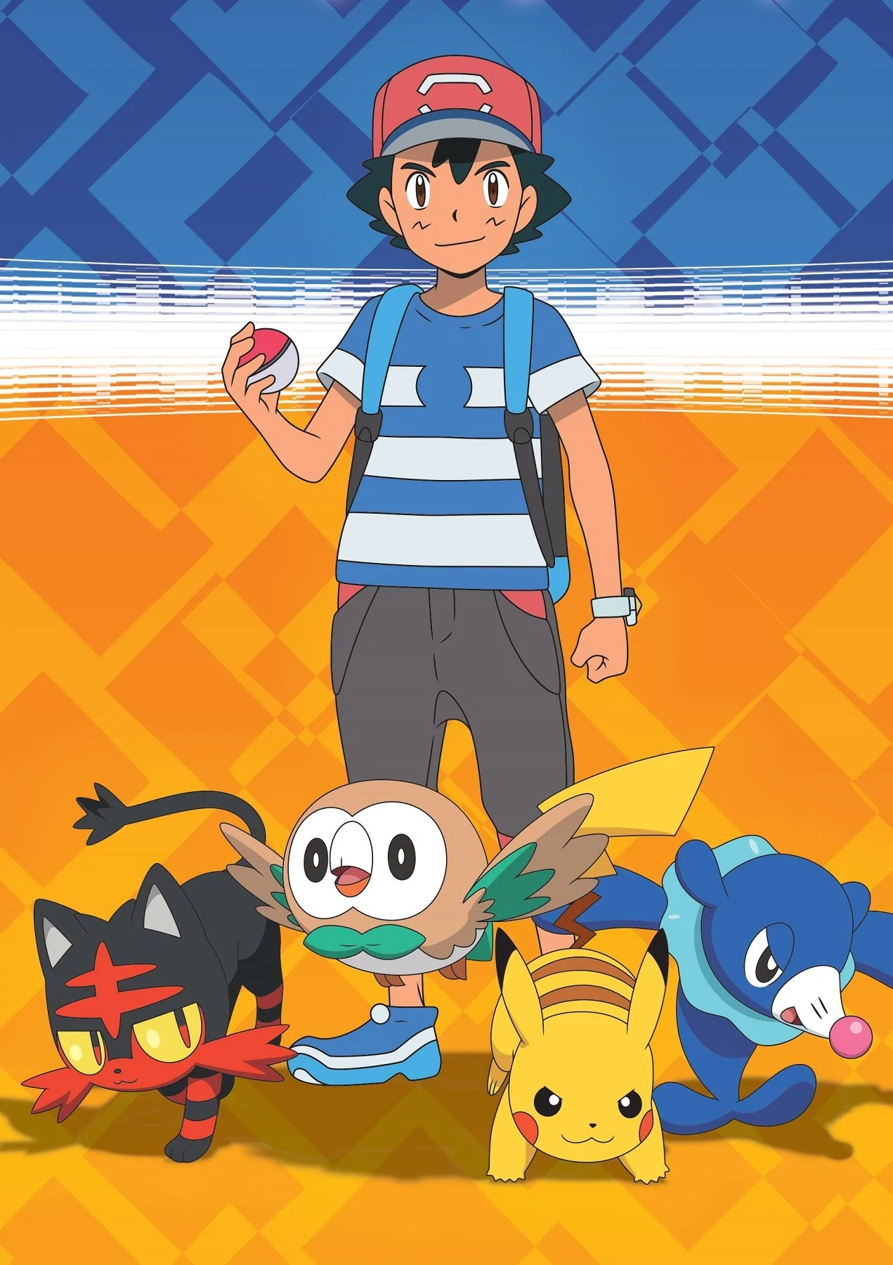 pokemon sun moon poster