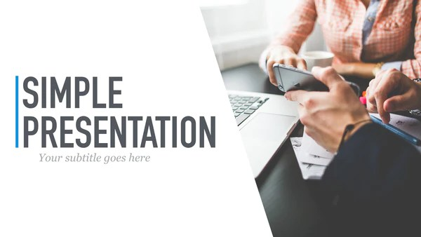 Simple Presentation For PowerPoint Amp Keynote Presentation Shop