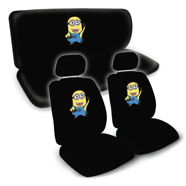 Minion Despicable Me Movie Universal Fit Seat Covers