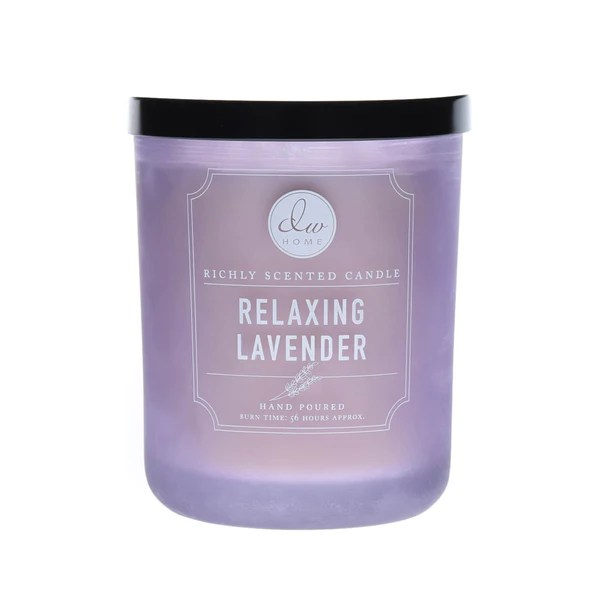 Relaxing Lavender DW Home Scented Candles DW6108DW6113
