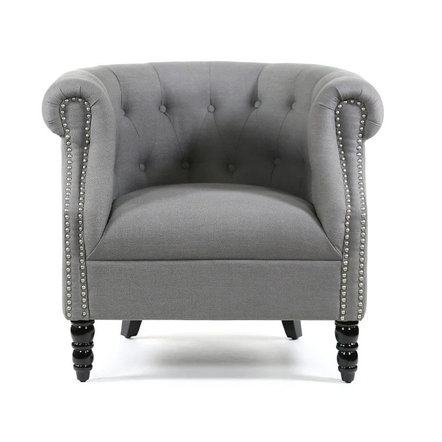 white upholstered rocking chair diy organza covers esther tub wolf grey – black mango