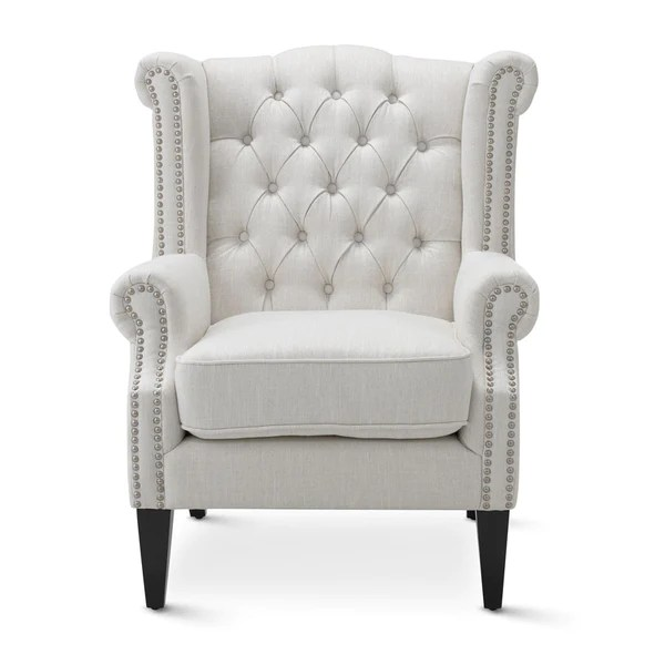 Teal And White Accent Chair