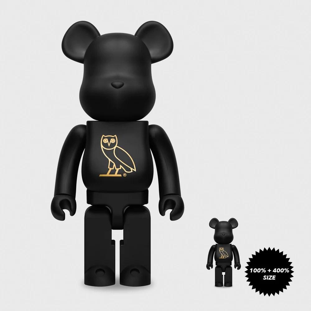 OG OWL 400% Bearbrick by OVO x Medicom Toy - Mindzai