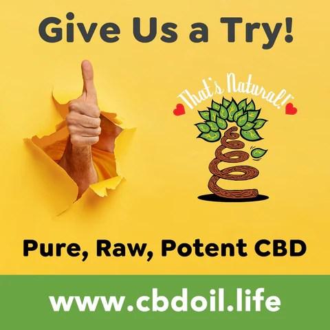 hemp-derived CBD from That's Natural full spectrum phytocannabinoids entourage effect - Precious plant compounds in That's Natural full spectrum CBD-rich hemp oil include other cannabinoids besides CBD (CBDA, CBC, CBG, CBN), terpenes (beta-myrcene, linalool, d-limonene, alpha-pinene, humulene, beta-caryophyllene) and polyphenols - See more about safe and effective hemp-derived CBD oil from Thats Natural at www.cbdoil.life and cbdoil.life and www.thatsnatural.info - legal hemp CBD, legal in all 50 states
