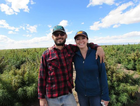 Michael Rivera of Colorado Direct Produce and Tisha Casida, CEO of That's Natural! We are adding to our list of premium hemp suppliers for our CBD-rich products from That's Natural! - we want you to KNOW YOUR FARMER! See more at www.cbdoil.life #harvest #fall #wellness #alternative #remedies #natural #home #essential #oils #pain #moms #momlife #anxiety