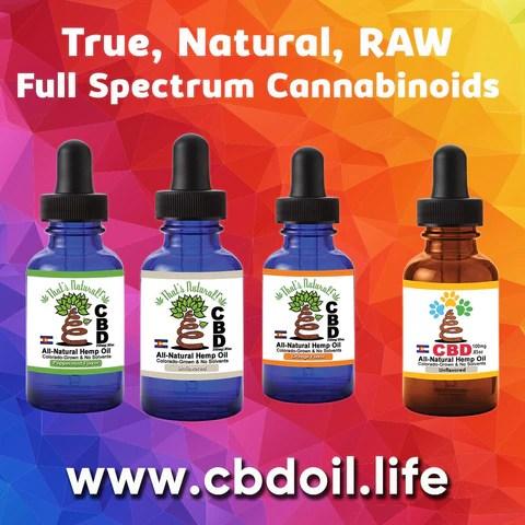 Entourage Effect - That's Natural full spectrum CBD oil products with cannabinoids and terpenes - experience the entourage effect with Thats Natural CBD Oil, legal hemp CBD, hemp legal in all 50 States, CBD, CBDA, CBC, CBG, CBN, Cannabidiol, Cannabidiolic Acid, Cannabichromene, Cannabigerol, Cannabinol; beta-myrcene, linalool, d-limonene, alpha-pinene, humulene, beta-caryophyllene - find at cbdoil.life and www.cbdoil.life - CBDP and CBDA Oil
