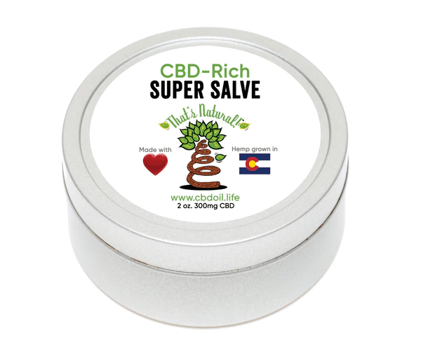 That's Natural CBD Super Salve with 300mg of cannabinoids