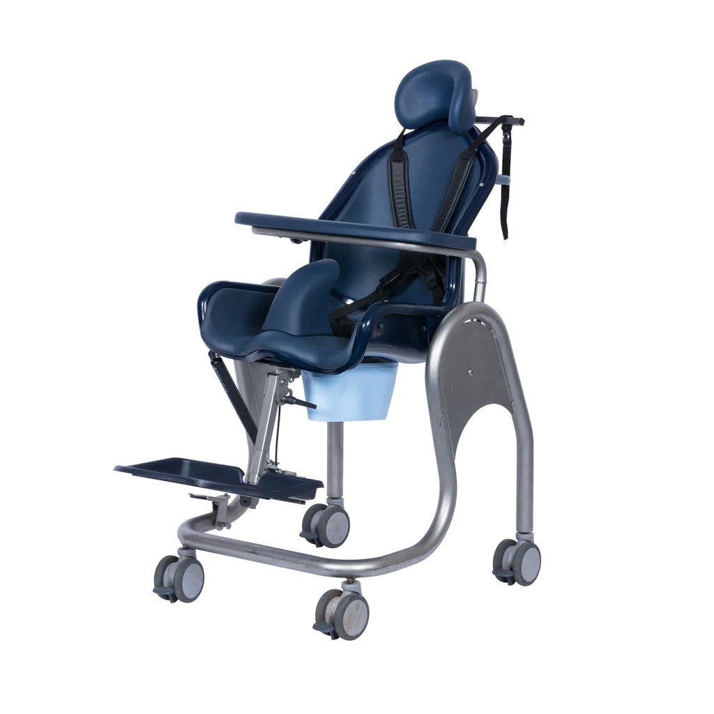 wheelchair toilet office chair supports 400 lbs tilt in space shower boris  kingkraft