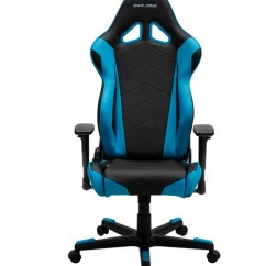 Dx Racing Gaming Chair Outdoor Rattan Armchair Uk Dxracer Series Oh Re0 Nb Blue Champs Chairs