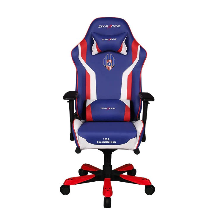 dxracer gaming chairs best for usa edition king series oh ks186 iwr usa3 chair champs