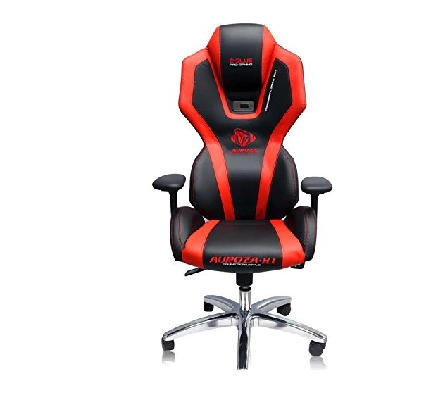 how much does a gaming chair cost intex and ottoman e blue auroza x1 led red champs chairs