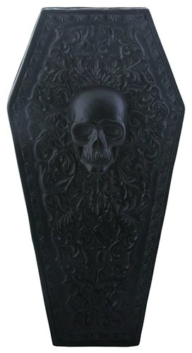 Gothic Floral Coffin Box  Summit Collection Gifts