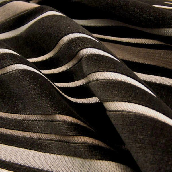 fabrics for chairs striped bedroom chair online india upholstery fabric velvet stripe infinity color 72 toto