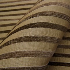 Fabrics For Chairs Striped Gold Universal Chair Covers Chenille Upholstery Fabric By The Yard Swavelle Mill Creek Bengal Stripe Sidwell Latte Toto