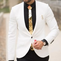 How To Style A Gold Tie