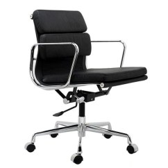 Eames Aluminum Management Chair Replica Beach Backpack Padded   Office Chairs Free Shipping!