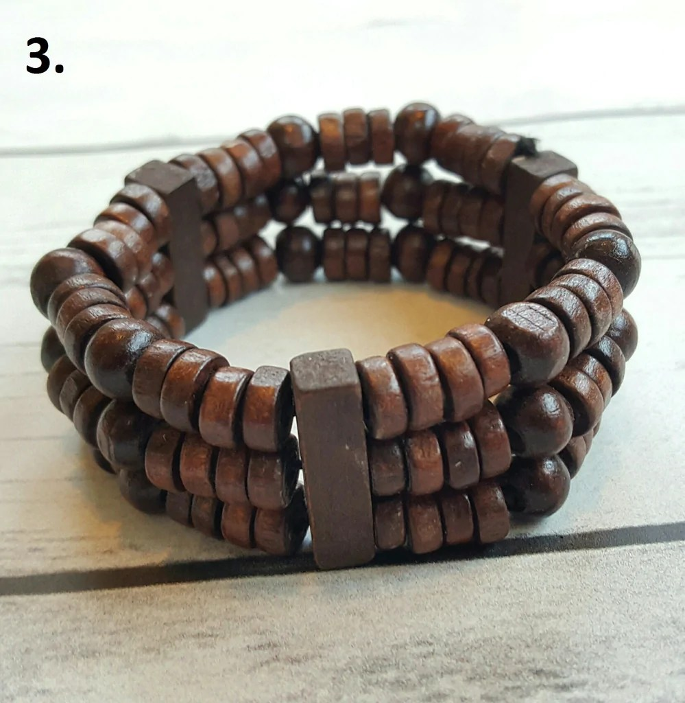 Wooden Bead Stretch Bracelet Amplify Your Vibration