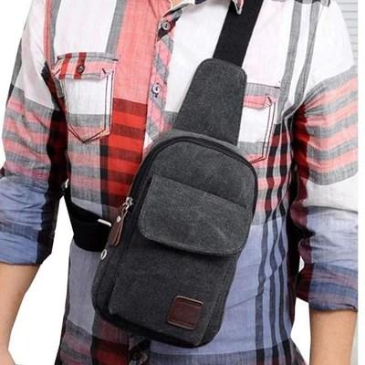 mens multifunction strap backpack
