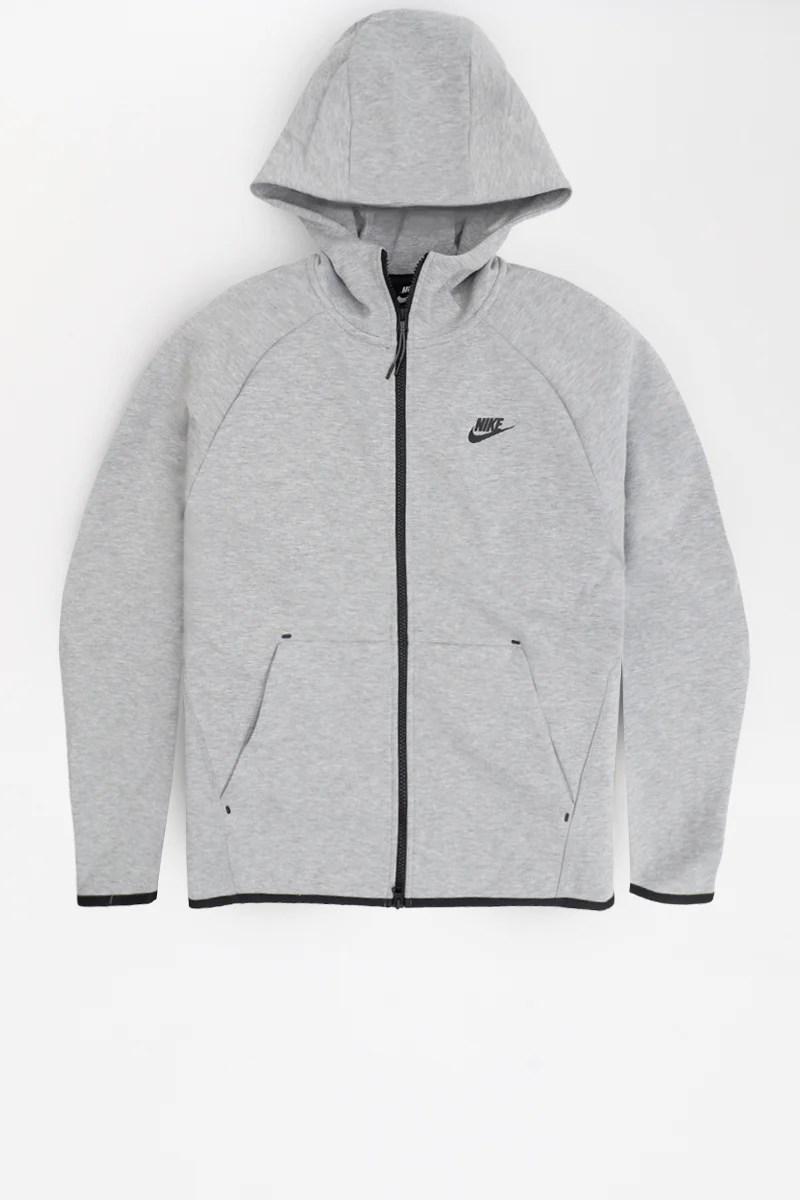 new concept 80765 c637a Nike Kapuzenjacke Sportswear Hoodie Schwarz/weiß