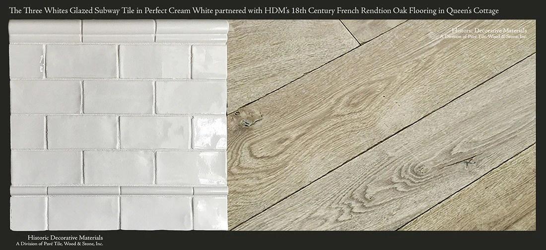 hdm s glazed ceramic 3 x 6 14 00 sf subway tile collection in historic white sold per box