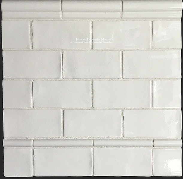 hdm s glazed ceramic 3 x 6 14 00 sf subway tile collection in vintage warm white sold per box