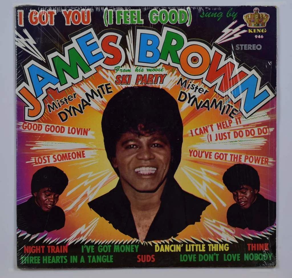 James Brown  I Got You (i Feel Good)  Rasputin Records