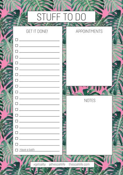 free printable downloadable tropical