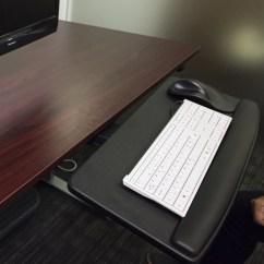 Chair Mount Keyboard Tray Canada Boat Bean Bag Chairs Adjustable And Drawer Hongkong  Ergonomic