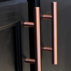 European Kitchen Cabinet Hardware Facelift For Cabinets Satin Copper Hamilton Bowes