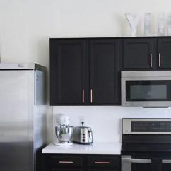 Kitchen Cabinet Spacing Ikea Set Satin Copper Hardware Euro Style Bar Handle Pull ...