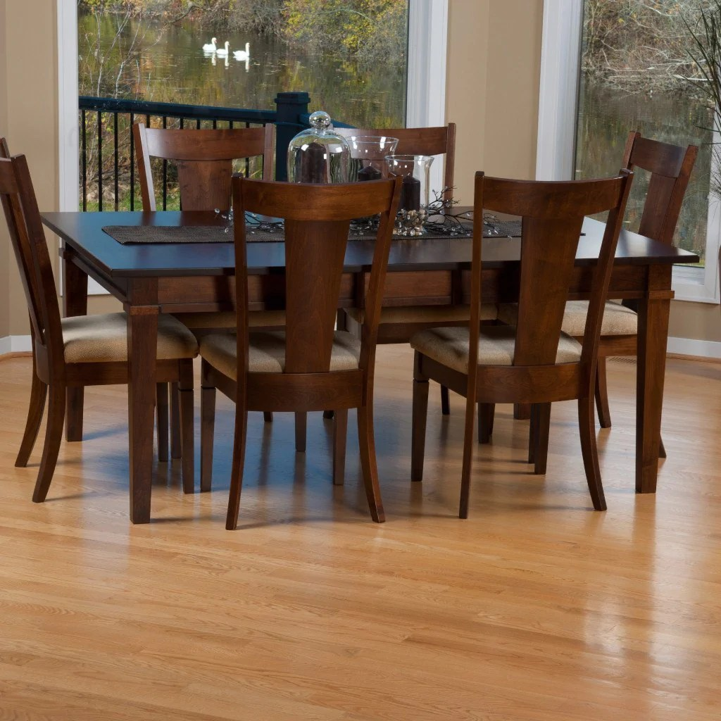 Ethan Leg Extension Table  Amish Solid Wood Tables