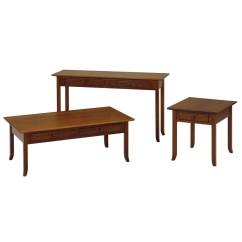 Amish Built Sofa Tables Bamboo Set Online Chennai Brookline Table Occasional